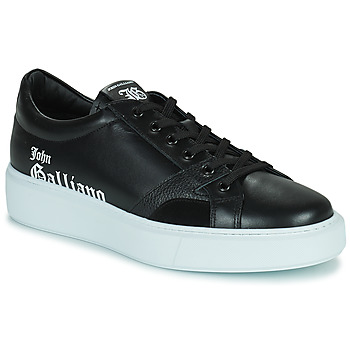 Shoes Men Low top trainers John Galliano MISSISSIPPI Black