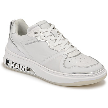 Shoes Women Low top trainers Karl Lagerfeld ELEKTRA LAY UP LO White