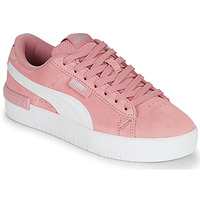Shoes Women Low top trainers Puma JADA Pink / White