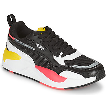Shoes Women Low top trainers Puma XRAY2 SQUARE Black / White / Pink