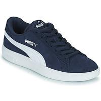 Shoes Children Low top trainers Puma SMASH JR Blue