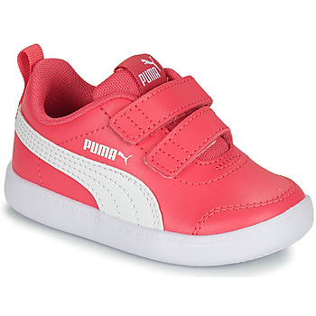 Shoes Girl Low top trainers Puma COURTFLEX INF Pink