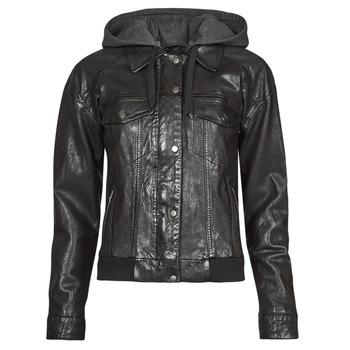 Clothing Women Leather jackets / Imitation leather Oakwood RUBY 6 Black