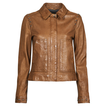 Clothing Women Leather jackets / Imitation leather Oakwood STAMP6 Brown