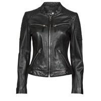 Clothing Women Leather jackets / Imitation leather Oakwood HILLS6 Black