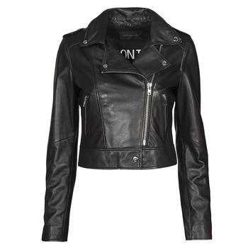 Clothing Women Leather jackets / Imitation leather Oakwood NIKKO Black