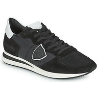 Shoes Men Low top trainers Philippe Model TRPX LOW BASIC Black