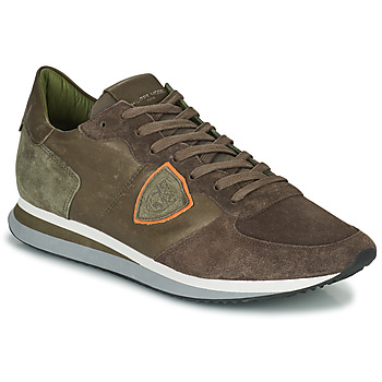 Shoes Men Low top trainers Philippe Model TRPX LOW MAN Taupe