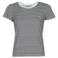 Clothing Women Short-sleeved t-shirts Guess ES SS GUESS LOGO BABY TEE Black