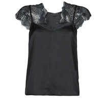 Clothing Women Tops / Blouses Guess SS MIRANDA TOP Black