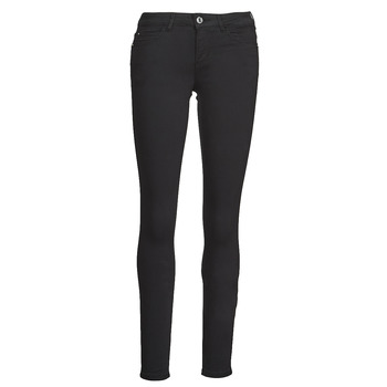 Clothing Women 5-pocket trousers Guess CURVE X Black