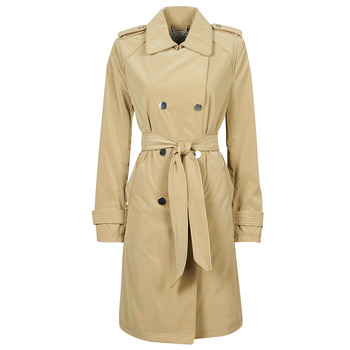 Clothing Women Trench coats Guess SUSAN TRENCH Beige
