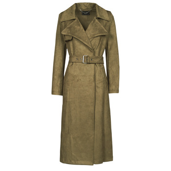 Clothing Women Trench coats Guess BARAA TRENCH Brown