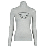 Clothing Women Jumpers Guess ADELLE TN LS SWTR Grey