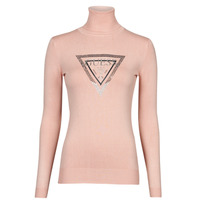 Clothing Women Jumpers Guess ADELLE TN LS SWTR Pink