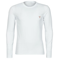 Clothing Men Long sleeved tee-shirts Guess CN SS CORE TEE STRETCH White