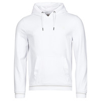 Clothing Men Sweaters Guess CHRISTIAN HOODIE FLEECE White