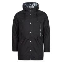 Clothing Men Parkas Guess COMMUTER DOUBLE JKT Black
