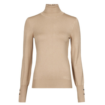 Clothing Women Jumpers Guess GOLDIE TN LS SWTR Camel