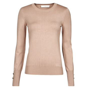 Clothing Women Jumpers Guess ELINOR RN LS SWTR Camel