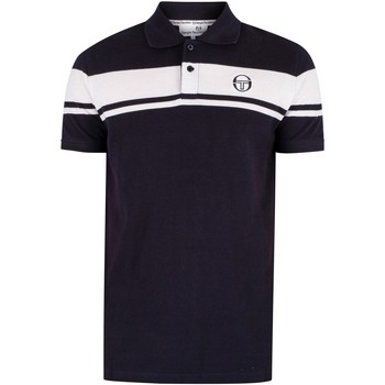 Clothing Men T-shirts & Polo shirts Sergio Tacchini Young Line Polo Shirt blue