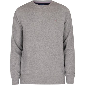 Clothing Men Sweaters Gant Original Sweatshirt grey