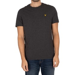 Clothing Men T-shirts & Polo shirts Lyle & Scott Plain Organic Cotton T-Shirt grey