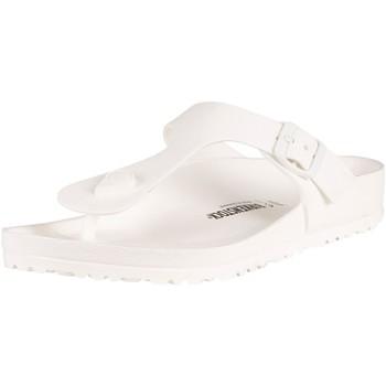 Shoes Men Flip flops Birkenstock Gizeh EVA Sandals white