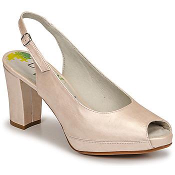 Shoes Women Heels Dorking MODALIA Beige