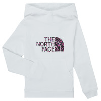 Clothing Girl Sweaters The North Face DREW PEAK HOODIE White