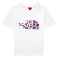 Clothing Girl Short-sleeved t-shirts The North Face EASY BOY TEE White