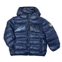 Clothing Boy Duffel coats Emporio Armani EA7 TREDA Marine