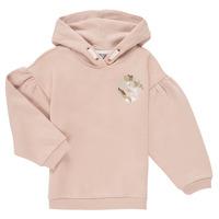 Clothing Girl Sweaters Puma ALPHA HOODIE Pink