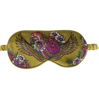 Clothes accessories Masks Anuschka 3302-AGG - 100% Silk Padded Eye Mask Multicolour