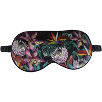 Clothes accessories Masks Anuschka 3302-ISE-BLK - 100% Silk Padded Eye Mask Multicolour