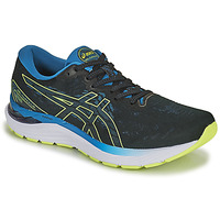 Shoes Men Running shoes Asics GEL-CUMULUS 23 Black / Blue / Yellow