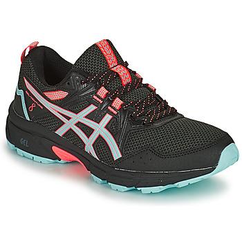 Shoes Women Running shoes Asics GEL-VENTURE 8 Black / Blue