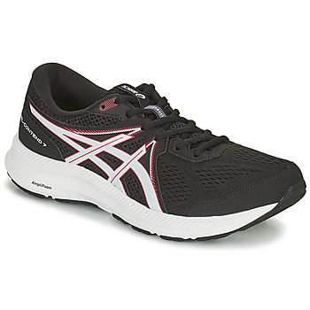 Shoes Men Running shoes Asics GEL CONTEND 7 Black / White / Red