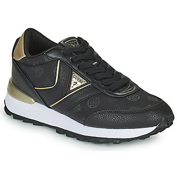 Shoes Women Low top trainers Guess SAMSIN4 Black