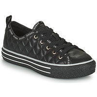 Shoes Women Low top trainers Guess PEYTINA Black