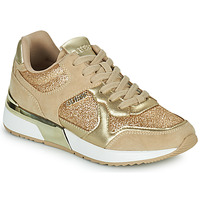 Shoes Women Low top trainers Guess MAYBEL Gold