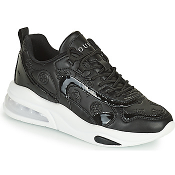 Shoes Women Low top trainers Guess FEVER3 Black