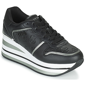 Shoes Women Low top trainers Guess HEKTOR Black