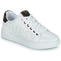 Shoes Women Low top trainers Guess RORIA White / Brown