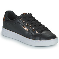 Shoes Women Low top trainers Guess BECKIE Black