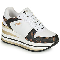 Shoes Women Low top trainers Guess HEKTOR White