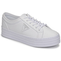 Shoes Women Low top trainers Guess BHANIA White