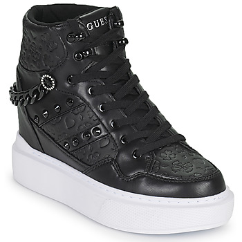 Shoes Women Low top trainers Guess ARYIA Black