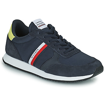 Shoes Men Low top trainers Tommy Hilfiger RUNNER LO MIX STRIPES Blue