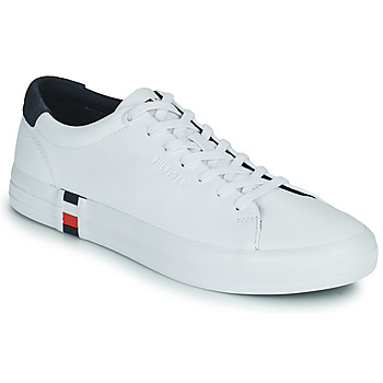 Shoes Men Low top trainers Tommy Hilfiger PREMIUM CORPORATE VULC SNEAKER White